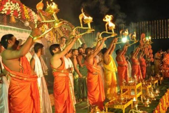 Telangana ghats all set for Krishna Pushkaralu beginning on Friday