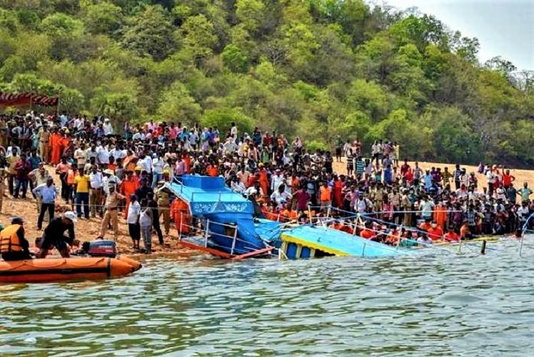 Godavari boat mishap Andhra police arrest owner and driver of vessel