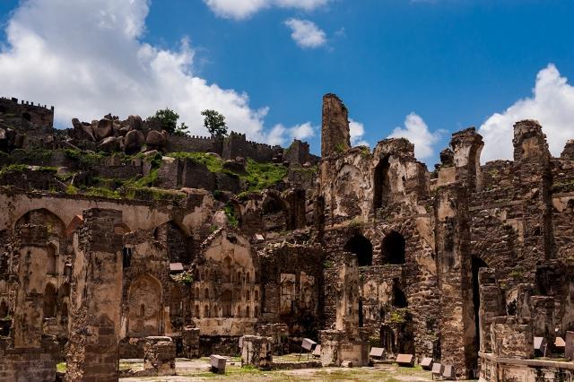 Photo essay Golconda Fort the seat of the Qutub Shahi dynasty