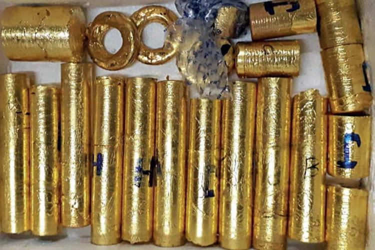 Gold confiscated in the controversial case