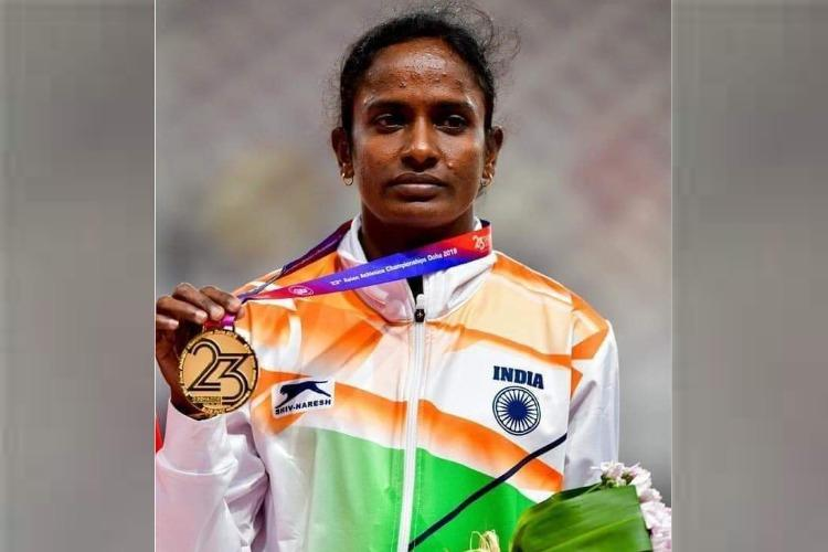 Athlete Gomathi faces prospect of 4-year ban losing Asian Championship gold