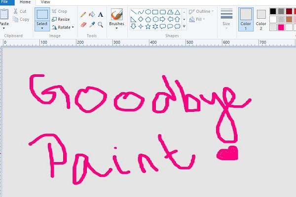 Microsoft confirms MS Paint not being removed to be available on Windows Store