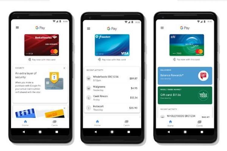 Google Pay now offers peer-to-peer payments service