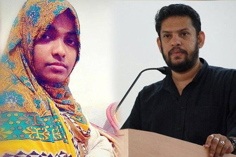 Hadiya is being sedated at home Filmmaker Gopal Menon makes startling allegation
