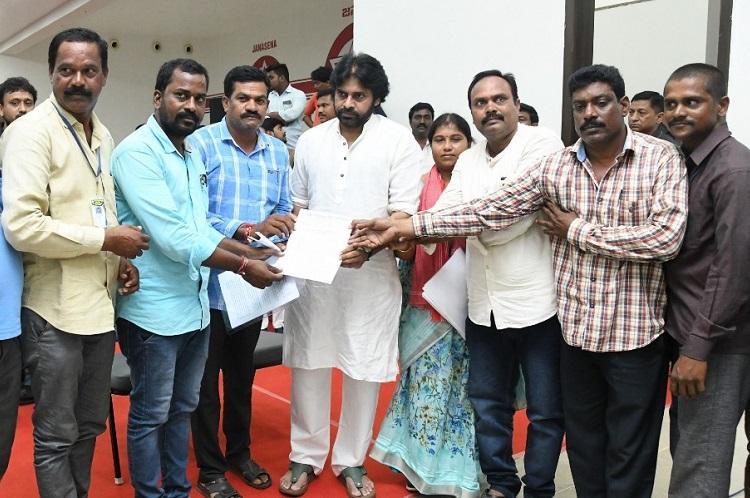 Andhra Pradesh livestock workers demand village secretariat jobs pending salaries