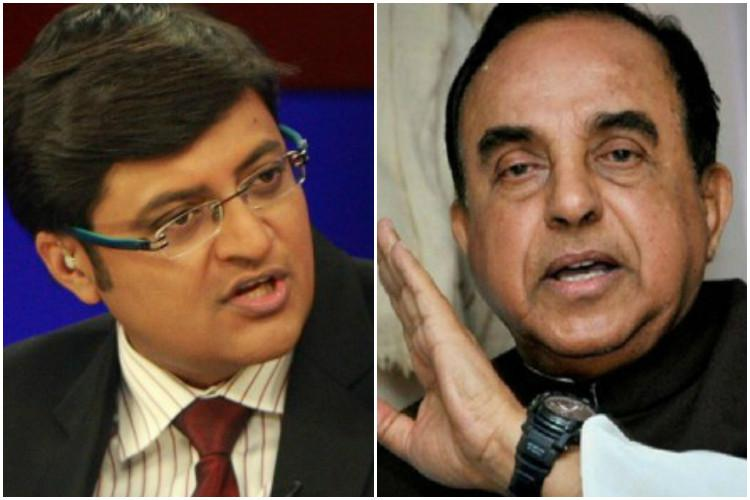 Arnab concedes renames Republic as Republic TV after Swamy points out legal flaw