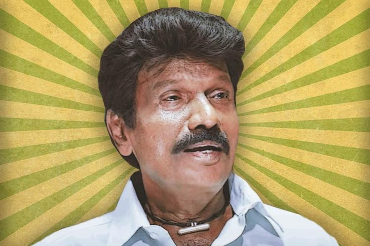 Tamil comedian Goundamani