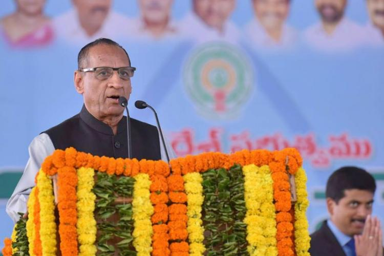 Hyderabad duo forge Governor Narasimhans sign to get elected as an MP MLA