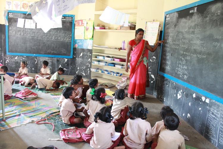 Leaky roof peeling walls no fans TN teacher starts online campaign for govt school