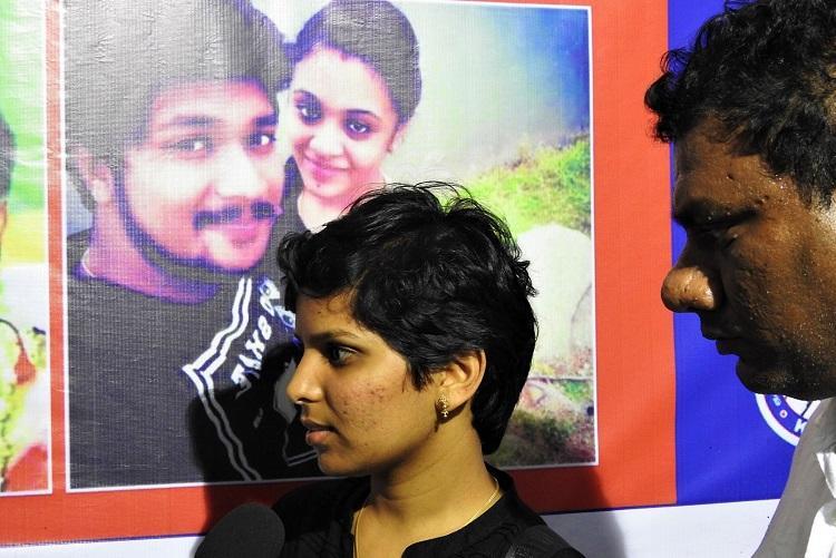 Pranay murder Gowsalya demands police protection for Amrutha