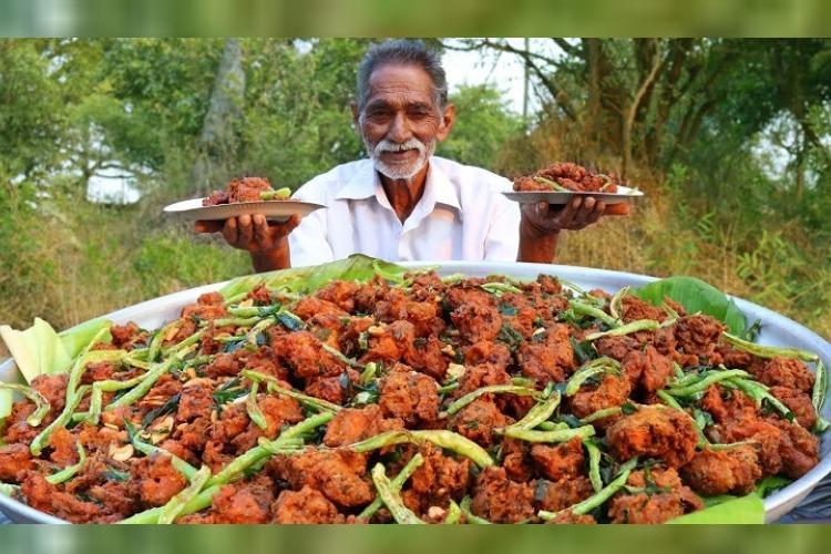 chef Narayana Reddy of 'Grandpa Kitchen