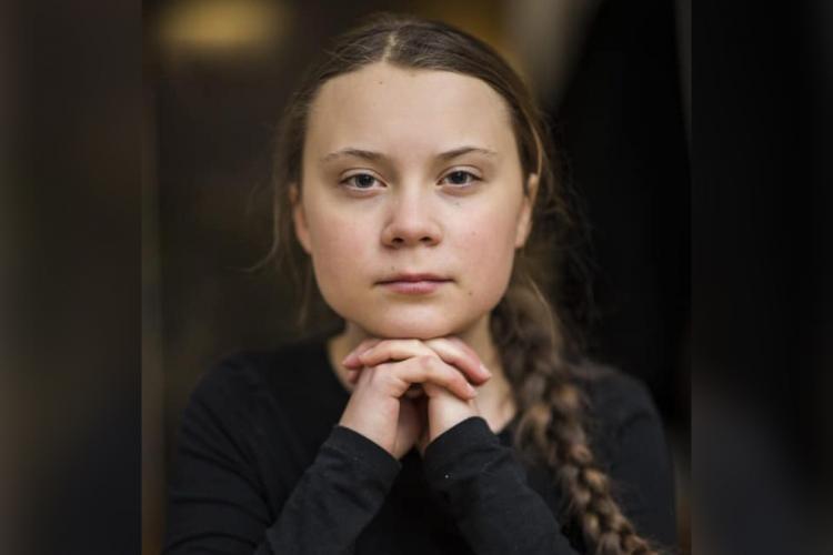 International teen climate activist Greta Thunberg