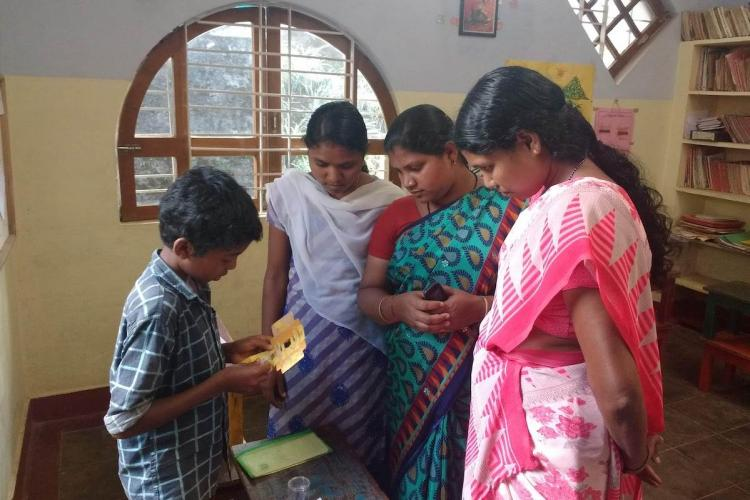 Kaathadi is a YouTube channel created by the educators, teachers and children of Gudalur's Vidyodaya school. The school exclusively caters to adivasi children in Gudalur and Pandalur taluks of The Nilgiris.