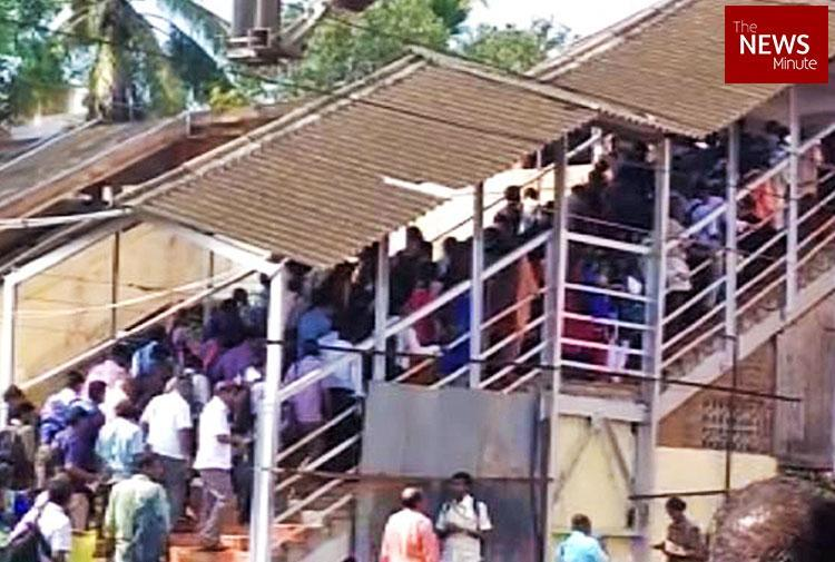 9 months after Hoodi Station was inaugurated commuters still wait for foot overbridge