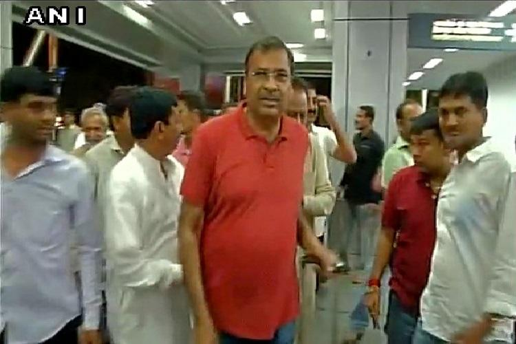 Panicked by MLA exodus Congress ferries 44 Gujarat MLAs to Bengaluru