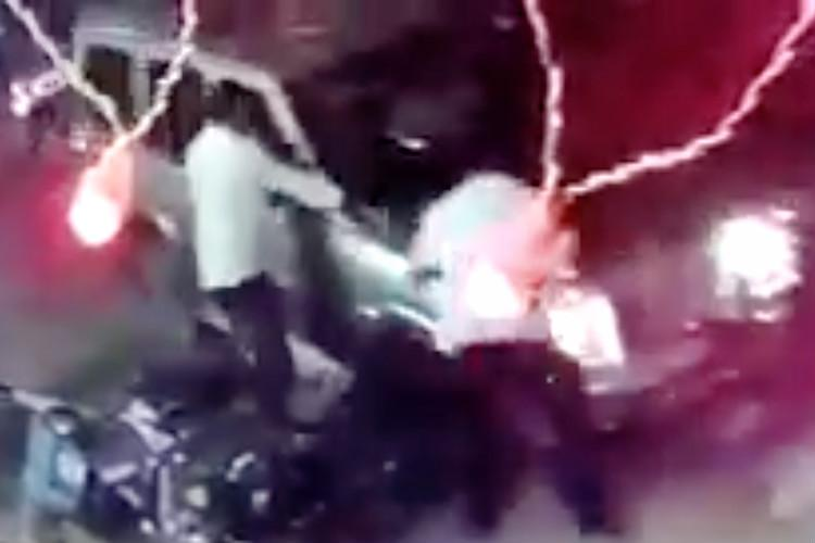 Caught on cam Rowdy brutally hacked to death in Andhra cops fan out to nab culprits