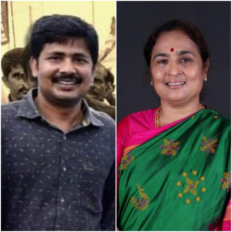 Collage of Dr Gurumoorthy and Ratna Prabha