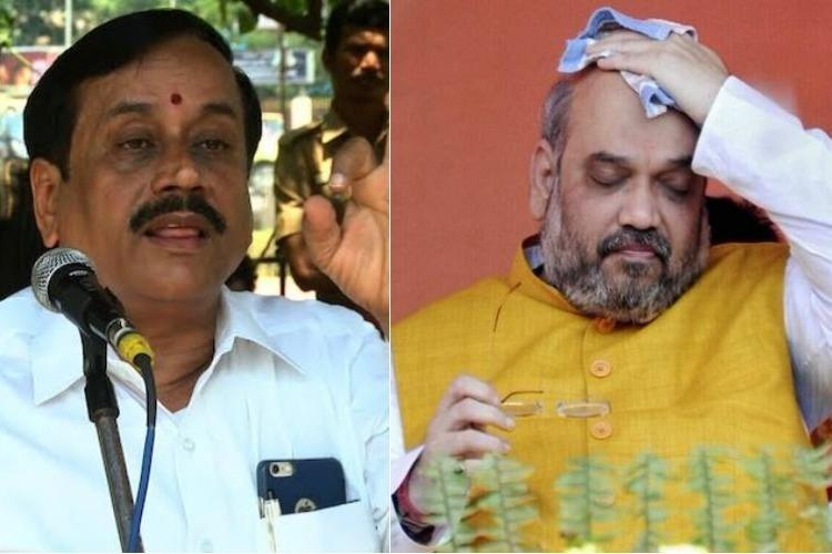 BJP on damage control mode after Periyar statue vandalised Amit Shah issues warning