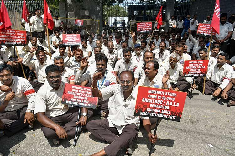 Explained Why HAL employees are on an indefinite strike