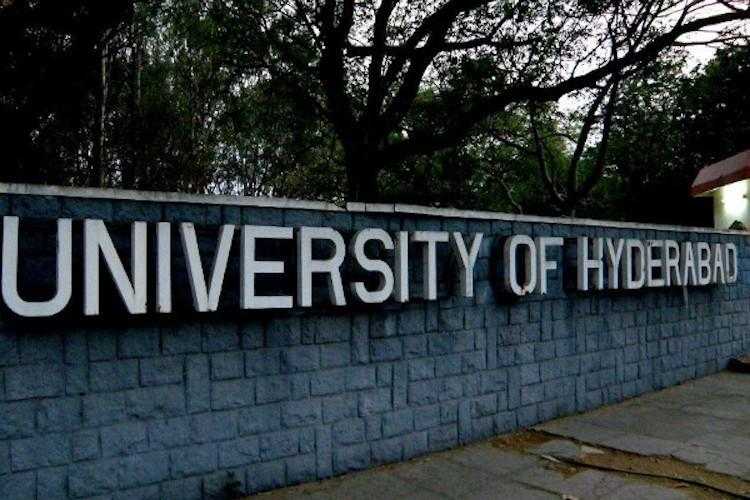 University of Hyderabad student elections 2018 A triangular political battle