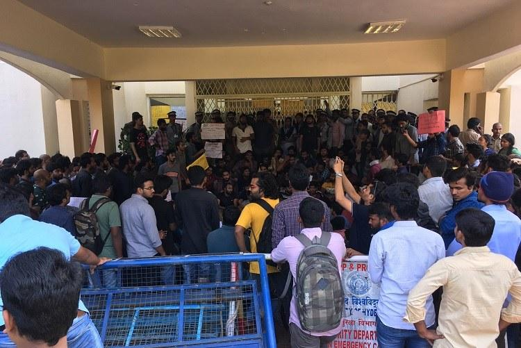 Did medical negligence result in death of Hyd Uni scholar Students demand action