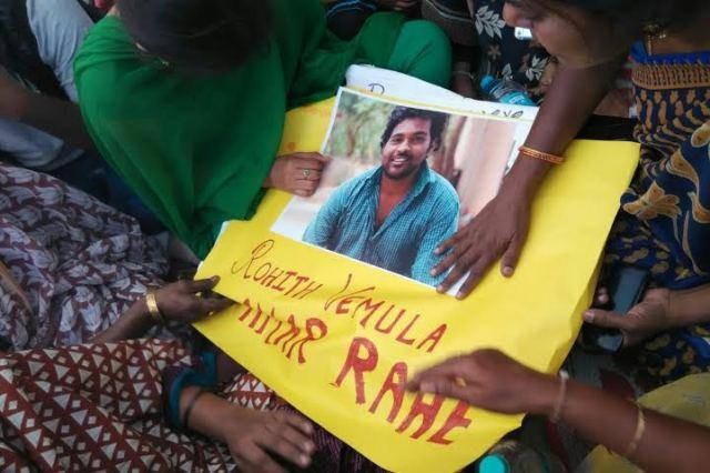 UoH staffers backing Vemula movement suspended over police detention