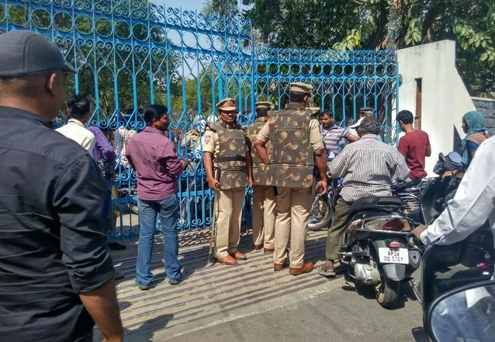 Hyderabad University fortified on day of Kanhaiya Kumar visit