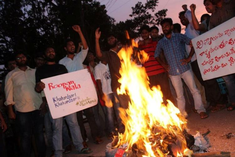 Months after Rohith Vemulas death dwindling movement pursues elusive justice at UoH