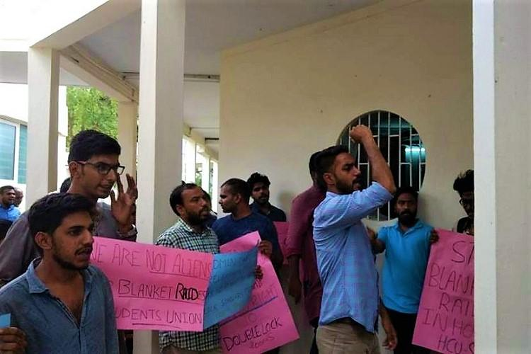 UoH extends hostel facilities after students protest eviction of PhD and MPhil scholars