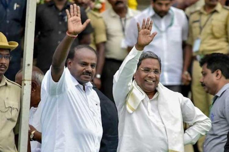 CM Kumaraswamy says ready to quit Congress MLAs crossing their line