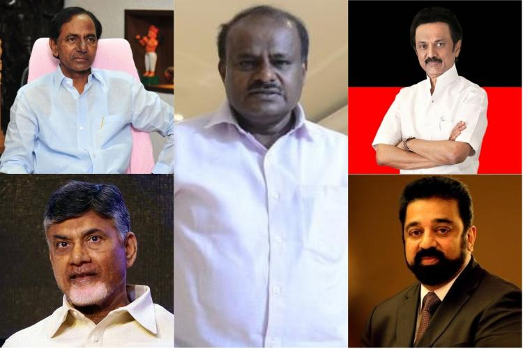 From Mamata to Pinarayi several regional heavyweights to attend HDK swearing in