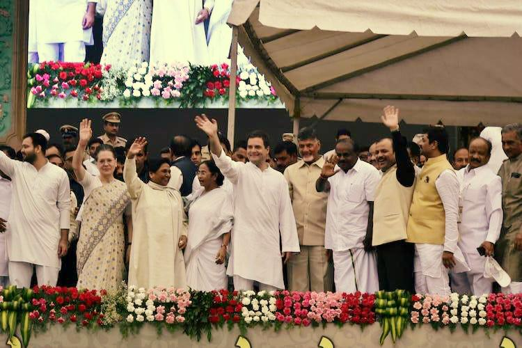 Opposition unity at HDK swearing-in Why Naidu attended and why KCR didnt