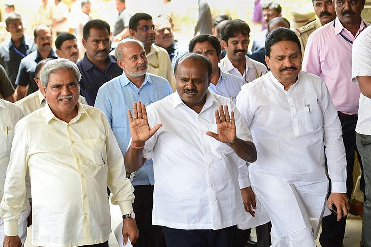 Kumaraswamy slams BJP for delaying cabinet expansion says party degrading CM