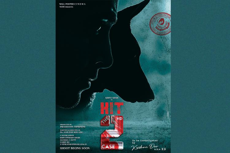 Producer Nani unveils poster of Adivi Sesh starrer HIT 2 The Second Case