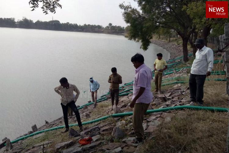 Karnataka drains lake after discovery of HIV-infected body