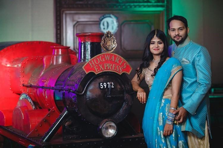 Chennai couple had Harry Potter-themed sangeet and it is every Potterheads dream