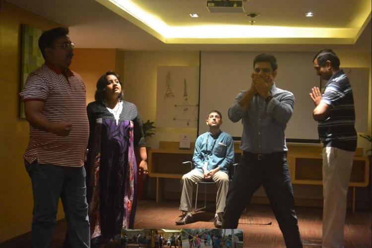 This Bluru company uses drama art and music to make corporate trainings engaging