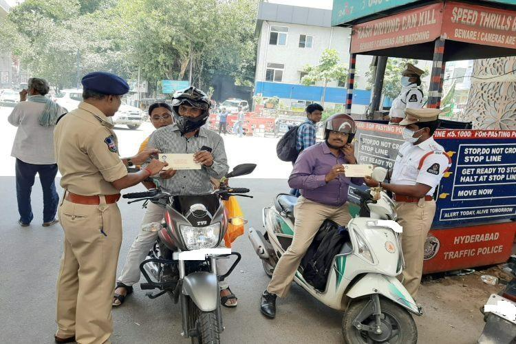 Bengaluru man coughs up Rs 17000 in traffic fines for three offences