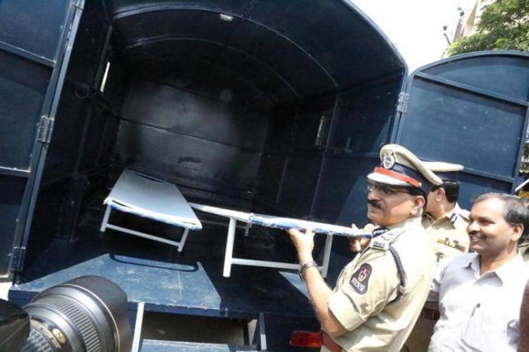Hyderabad police launches special forensic vehicle to carry bodies from crime scene