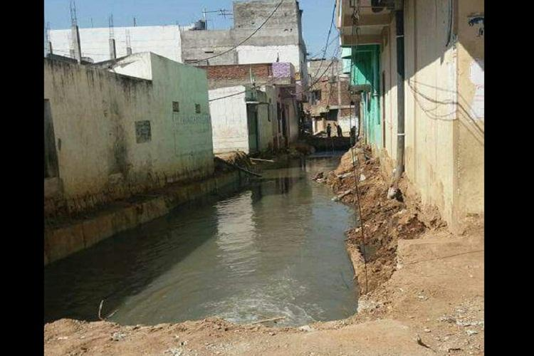 Hyderabads Hafiz Baba Nagar residents raise stink over open drain authorities turn blind eye