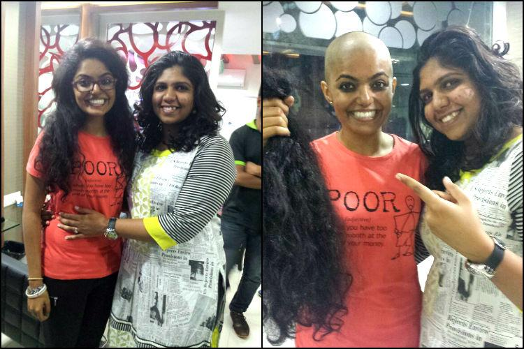 Hair donation for cancer victims
