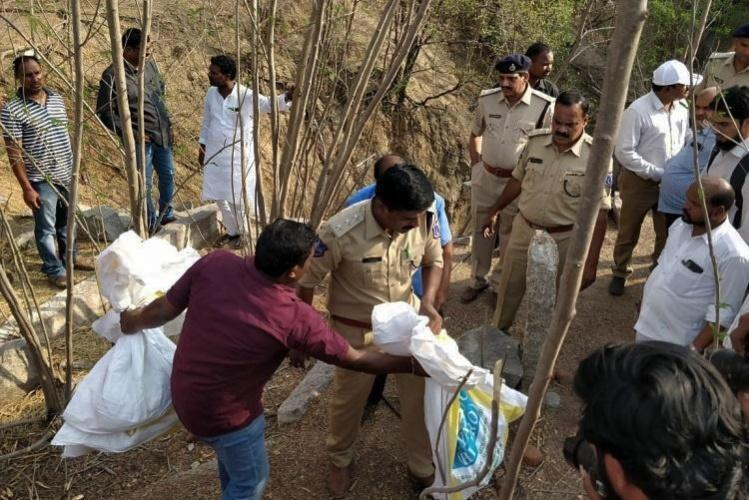 Telangana triple rape-murders Accused produced in fast-track court as trial nears end
