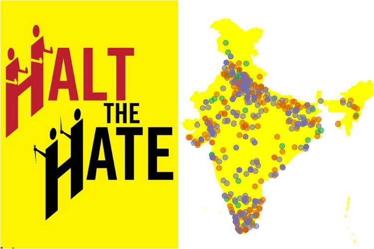 Halt the Hate This new website allows you to track and report hate crimes across India