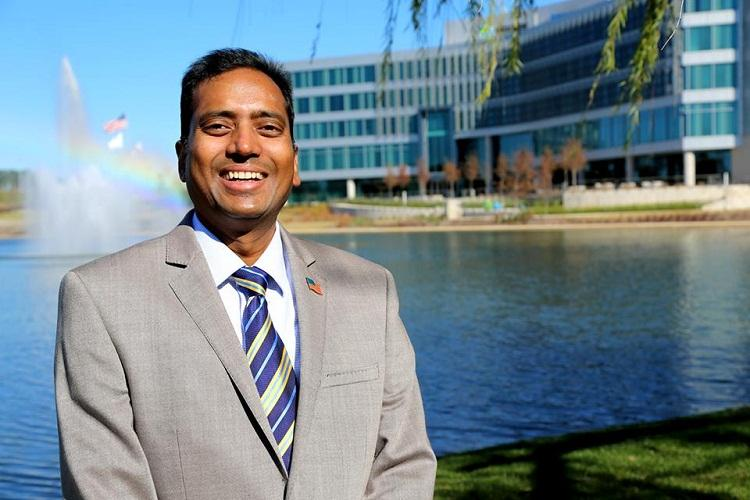 Andhra born business man runs for mayorship in Alabama