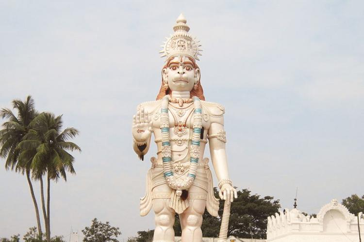This will be the tallest Hanuman statue