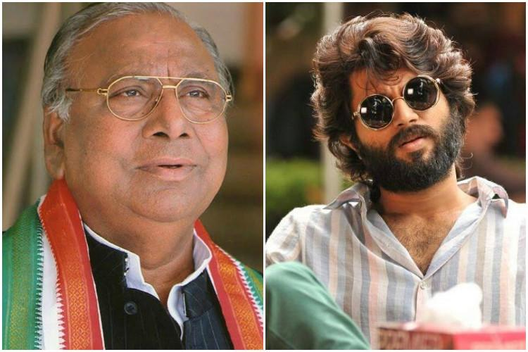 Ban Arjun Reddy for promoting drugs says Congress leader who tore posters of the film