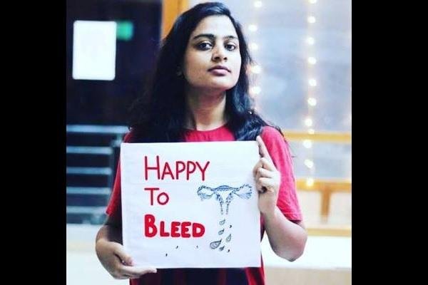Happy to bleed campaign after Sabarimala boards comment on machine to scan menstruating women