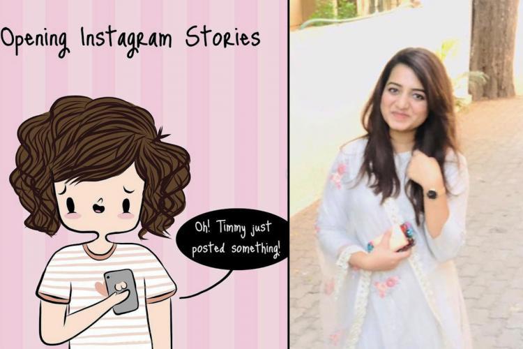 Meet Akshara Ashok artist behind the goofy Happy Fluff comics on Instagram