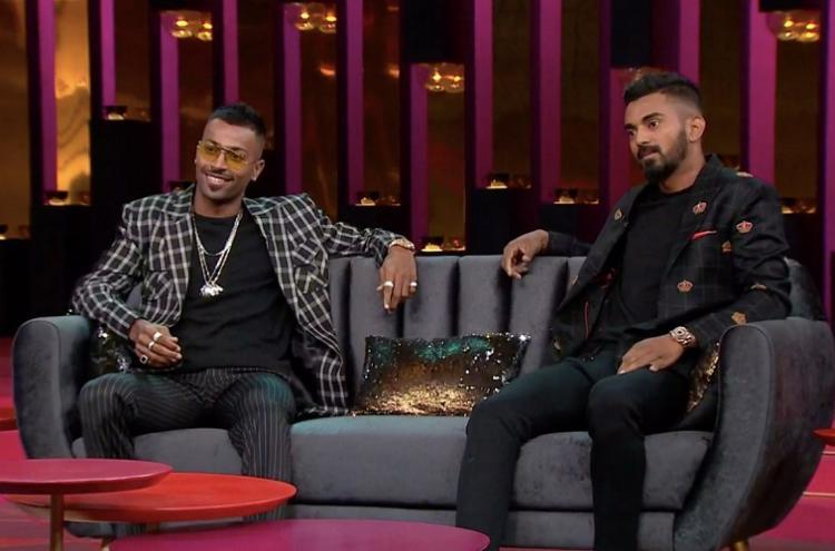 2-match ban recommended for Pandya KL Rahul over remarks on Koffee with Karan