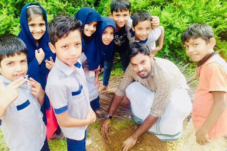 Eco-warrior Meet the Kerala man who is on a mission to plant 1 lakh trees